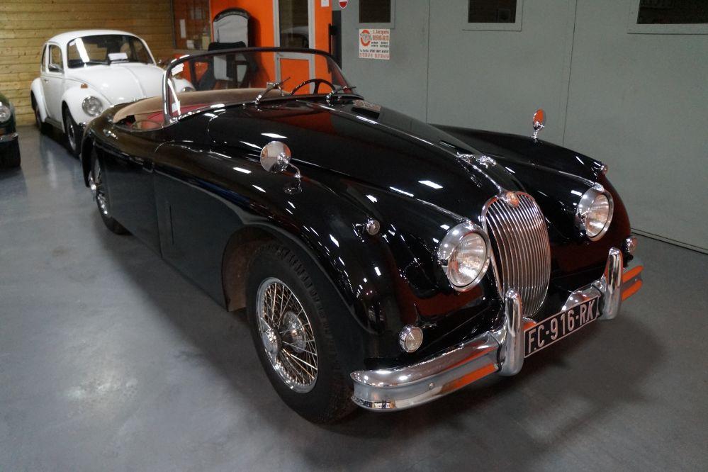 Jaguar XK150 Roadster 3.8 Noire 1959