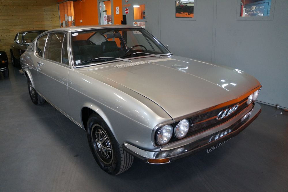 Audi 100S Coupe Grise 1974