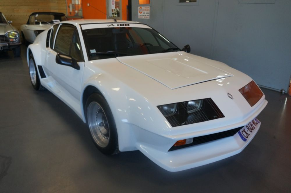 Alpine A310 V6 Pack GT Blanche 1978