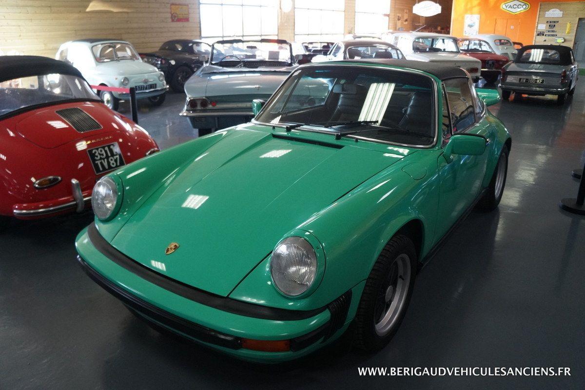 Porsche 911  2.7 Targa 1974 Vert Jade