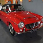 Fiat Osca 1500S Cabriolet Rouge 1962