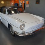 Renault Caravelle 1100S Cabriolet Blanche 1966